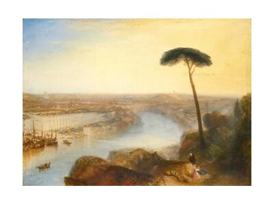 Rome, From Mount Aventine - WILLIAM TURNER 1835 from Aux Beaux-Arts, Prodi Art, Art photography, Art print, Standard frame sizes, Prodi Art
