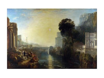 Dido Building Carthage - WILLIAM TURNER 1815 from Aux Beaux-Arts, VisionArt, Art photography, Art print, Standard frame sizes, Prodi Art