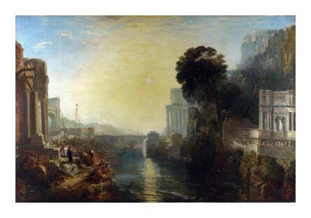 Dido Building Carthage - WILLIAM TURNER 1815 from Aux Beaux-Arts, Prodi Art, Art photography, Art print, Prodi Art
