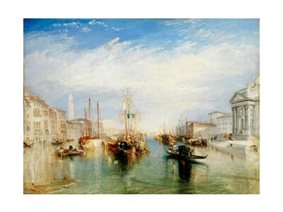 Venice, from the Porch of Madonna della Salute - WILLIAM TURNER 1835 from Aux Beaux-Arts, VisionArt, Art photography, Art print, Standard frame sizes, Prodi Art