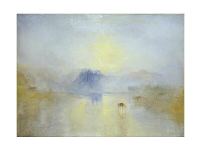 Norham Castle, Sunrise - WILLIAM TURNER 1845 from Aux Beaux-Arts, VisionArt, Art photography, Art print, Standard frame sizes, Prodi Art