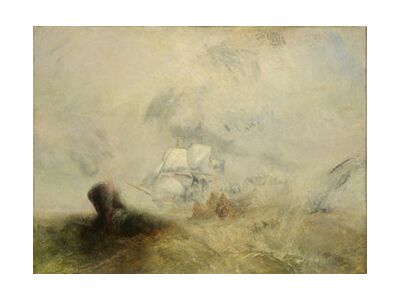 Whalers - WILLIAM TURNER 1840 from Aux Beaux-Arts, Prodi Art, Art photography, Art print, Standard frame sizes, Prodi Art