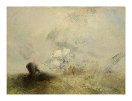 Whalers - WILLIAM TURNER 1840 from Aux Beaux-Arts, Prodi Art, Art photography, Art print, Prodi Art