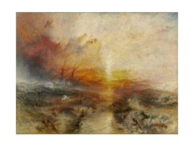 The slave ship - WILLIAM TURNER 1840 from Aux Beaux-Arts, VisionArt, Art photography, Art print, Standard frame sizes, Prodi Art