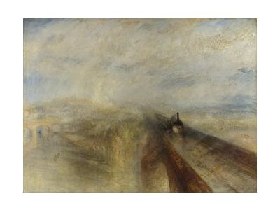 Rain, Steam and Speed – The Great Western Railway - WILLIAM TURNER 1844 from Aux Beaux-Arts, VisionArt, Art photography, Art print, Standard frame sizes, Prodi Art