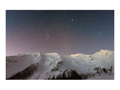 The stars under the mountain from Pierre Gaultier, VisionArt, Art photography, Art print, Standard frame sizes, Prodi Art