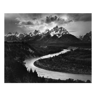 Snake River, Las Cruces, ANSEL ADAMS 1942 from Aux Beaux-Arts, VisionArt, Art photography, Art print, Standard frame sizes, Prodi Art
