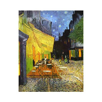 The Café Terrace on the Place... from AUX BEAUX-ARTS, Prodi Art, Art photography, Giclée Art print, Standard frame sizes, Prodi Art