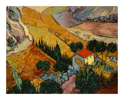 Landscape with House and Ploug... from AUX BEAUX-ARTS, Prodi Art, Art photography, Giclée Art print, Prodi Art