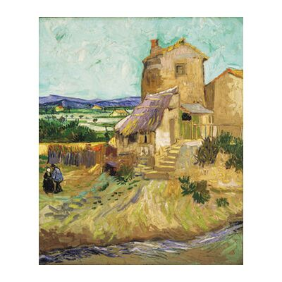 The Old Mill - VINCENT VAN GOG... from AUX BEAUX-ARTS, Prodi Art, Art photography, Giclée Art print, Standard frame sizes, Prodi Art