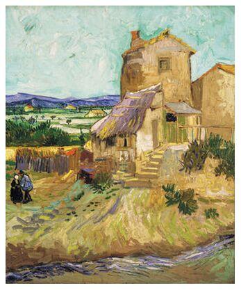 The Old Mill - VINCENT VAN GOG... from AUX BEAUX-ARTS, Prodi Art, Art photography, Giclée Art print, Prodi Art