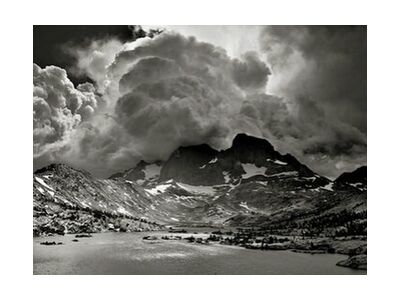 Garnet Lake, California, ANSEL ADAMS from Aux Beaux-Arts, VisionArt, Art photography, Art print, Standard frame sizes, Prodi Art