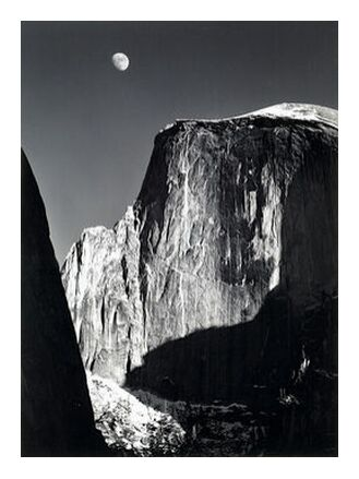 Yosemite national park,  California, ANSEL ADAMS - 1960 from Aux Beaux-Arts, Prodi Art, Art photography, Giclée Art print, Prodi Art