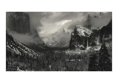 Yosemite, United States - ANSEL ADAMS 1952 from Aux Beaux-Arts, Prodi Art, Art photography, Art print, Standard frame sizes, Prodi Art