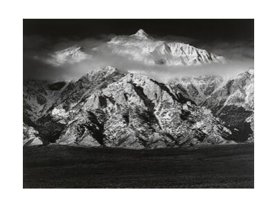 Mountain Williamson, Sierra Nevada - ANSEL ADAMS 1949 from Aux Beaux-Arts, Prodi Art, Art photography, Art print, Standard frame sizes, Prodi Art