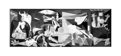 Guernica - PABLO PICASSO from AUX BEAUX-ARTS, Prodi Art, Art photography, Giclée Art print, Standard frame sizes, Prodi Art
