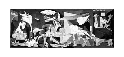 Guernica - PABLO PICASSO from Aux Beaux-Arts, VisionArt, Art photography, Art print, Standard frame sizes, Prodi Art