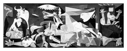 Guernica - PABLO PICASSO from Aux Beaux-Arts, Prodi Art, Art photography, Art print, Prodi Art