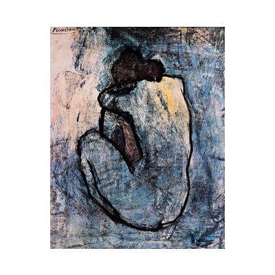 Blue nude - PABLO PICASSO from Aux Beaux-Arts, Prodi Art, Art photography, Art print, Standard frame sizes, Prodi Art