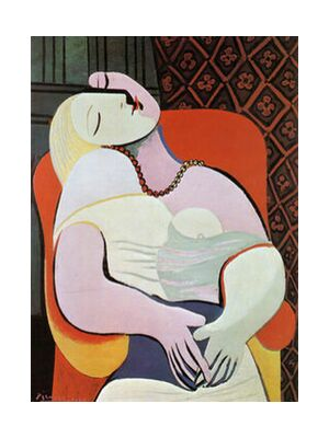 The dream - PABLO PICASSO from Aux Beaux-Arts, VisionArt, Art photography, Art print, Standard frame sizes, Prodi Art