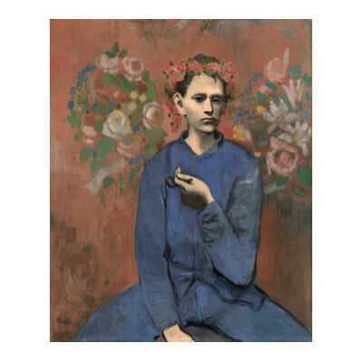 Boy with pipe - PABLO PICASSO from AUX BEAUX-ARTS, Prodi Art, Art photography, Giclée Art print, Standard frame sizes, Prodi Art