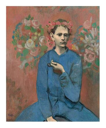 Boy with pipe - PABLO PICASSO from Aux Beaux-Arts, Prodi Art, Art photography, Art print, Prodi Art