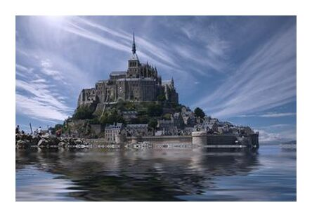 Le Mont-Saint-Michel from Aliss ART, VisionArt, Art photography, Art print, Prodi Art