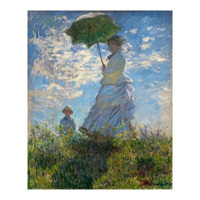 The Stroll - CLAUDE MONET 1875 from AUX BEAUX-ARTS, Prodi Art, Art photography, Giclée Art print, Standard frame sizes, Prodi Art