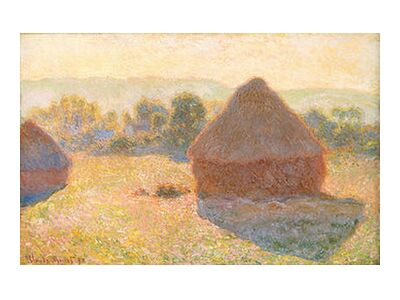 Haystacks, middle of the day -... from AUX BEAUX-ARTS, Prodi Art, Art photography, Giclée Art print, Standard frame sizes, Prodi Art