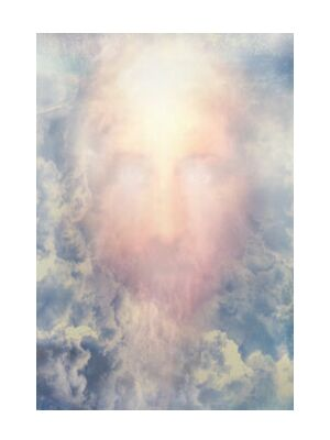 The Messiah in glory from Adam da Silva, Prodi Art, Art photography, Giclée Art print, Standard frame sizes, Prodi Art