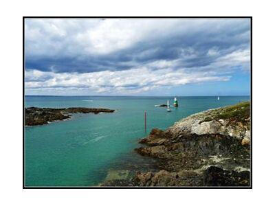 Bord de mer de JuJuPhotographies, VisionArt, Photographie d'art, Impression d'art, Tailles de cadre standard, Prodi Art